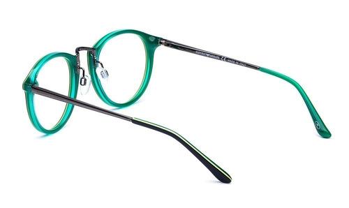 a38f6aaccb454 Armação Oculos Grau Masculino Importado Ea34 Acetato Redondo - R  79 ...