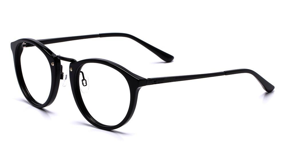 a535ec166 armação oculos grau masculino importado ea63 acetato-redondo. Carregando  zoom.