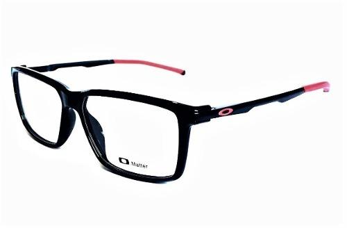 16ab77e5d184a Armação Oculos Grau Masculino Oakley Ox3189 Black Original - R  133 ...