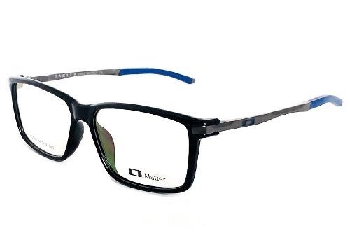 37f301c73f59c Armação Oculos Grau Masculino Oakley Ox3189 Blue Original - R  126 ...