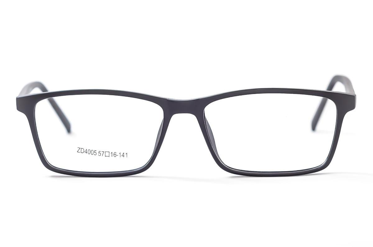 armação óculos grau masculino preto quadrado zd4005. Carregando zoom. 79660e2679