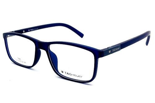 Armação Oculos Grau Masculino Tag Heuer T7023 Sport Original - R ... adae1717c4