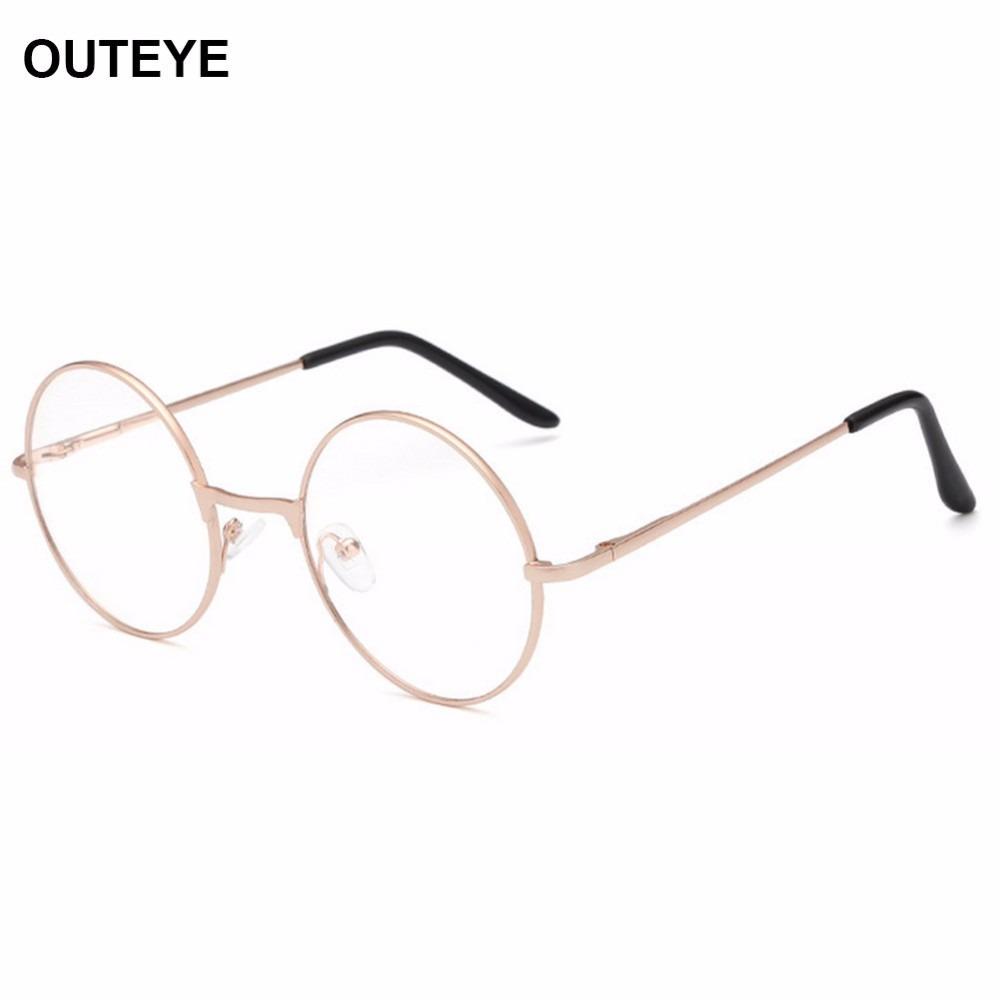 6fe0753ec4bfd Armação Óculos Grau Metal Redondo Harry Poter Masc femin Bh - R  39 ...