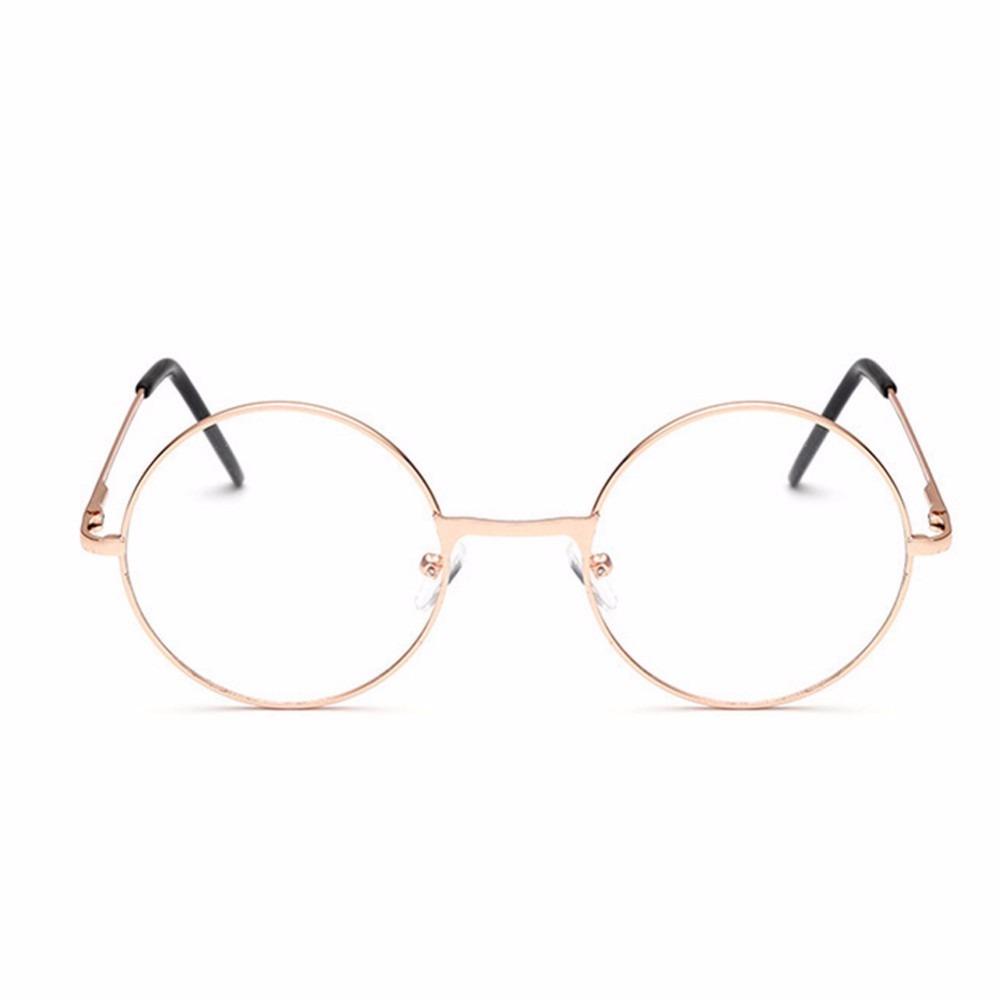 cedfd8b0e08f2 armação óculos grau metal redondo john lennon masc femin bh. Carregando  zoom.