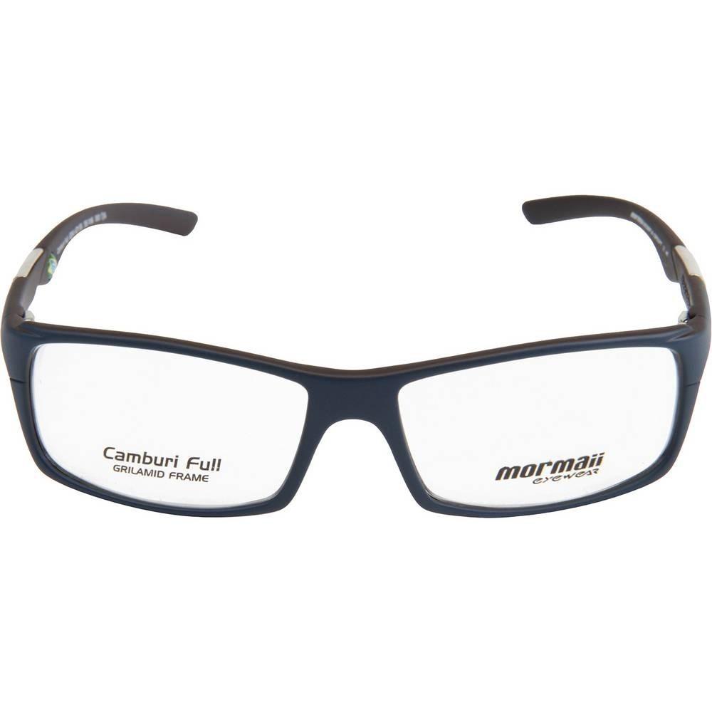 98735ec6a18ac armação oculos grau mormaii camburi full azul bordo fosco. Carregando zoom.
