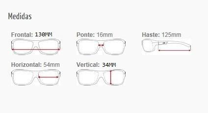 a7405ae48 Armação Oculos Grau Mormaii Itapuã 1 122011750 Preto Fosco - R$ 179 ...