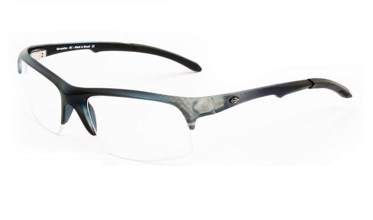 532637af0 Armação Oculos Grau Mormaii Itapuã 1 122069050 Cinza Fosco Q - R ...