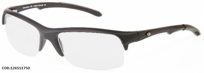 9b3d3de8d Armação Oculos Grau Mormaii Itapuã 3 126511750 Preto Fosco - R$ 179 ...