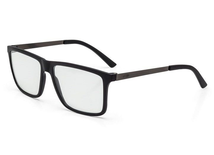 421c165c3 Armação Oculos Grau Mormaii Khapa M6045a1656 Preto Fosco - R$ 159,00 ...
