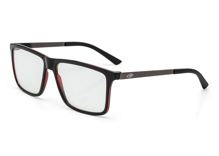 ab706d42ff5c6 Armação Oculos Grau Mormaii Khapa M6045a9756 Preto - R  159