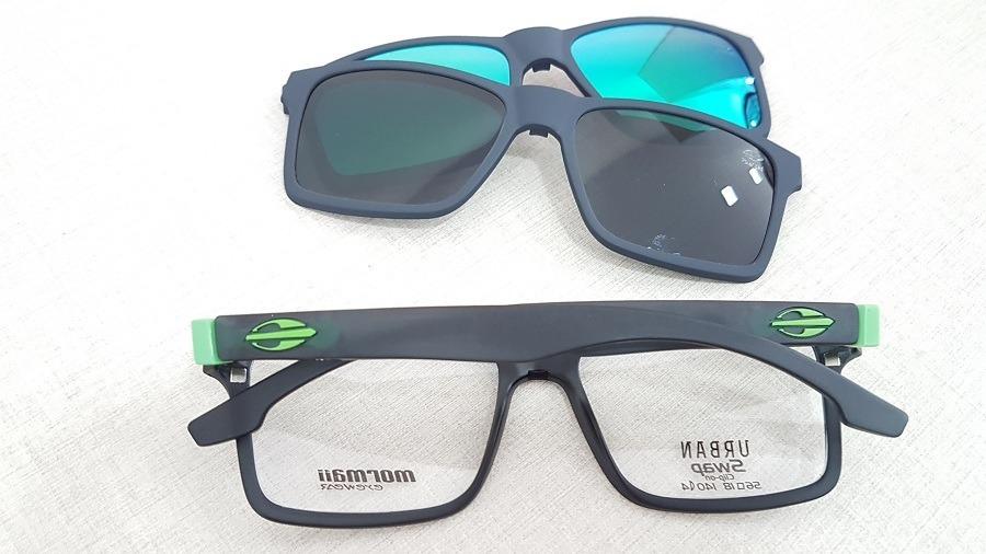 31c6d2bacc954 armação oculos grau mormaii swap m6057d63 clipon polarizado. Carregando zoom .