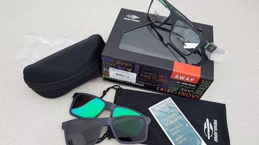 a663b9615 armação oculos grau mormaii swap m6057d63 clipon polarizado. Carregando  zoom.