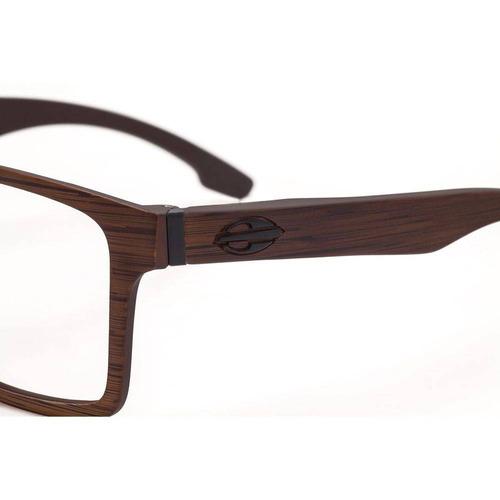 f1fe9a66621b9 Armação Óculos Grau Mormaii Swap M6057j4756 Marrom - R  278,00 em ...