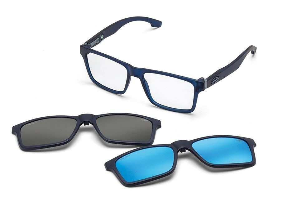 armação óculos grau mormaii swap m6057k2656 azul polarizado. Carregando  zoom. e47eb8588b