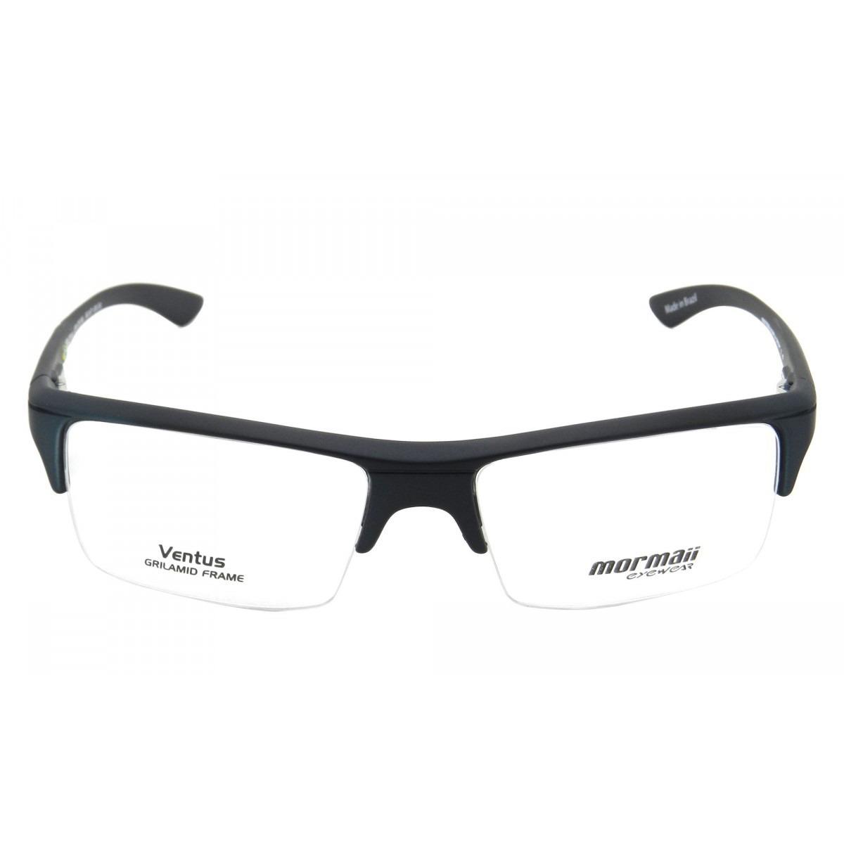 Armação Oculos Grau Mormaii Ventus Verde Metalico Original - R  223 ... 3123ee33d7