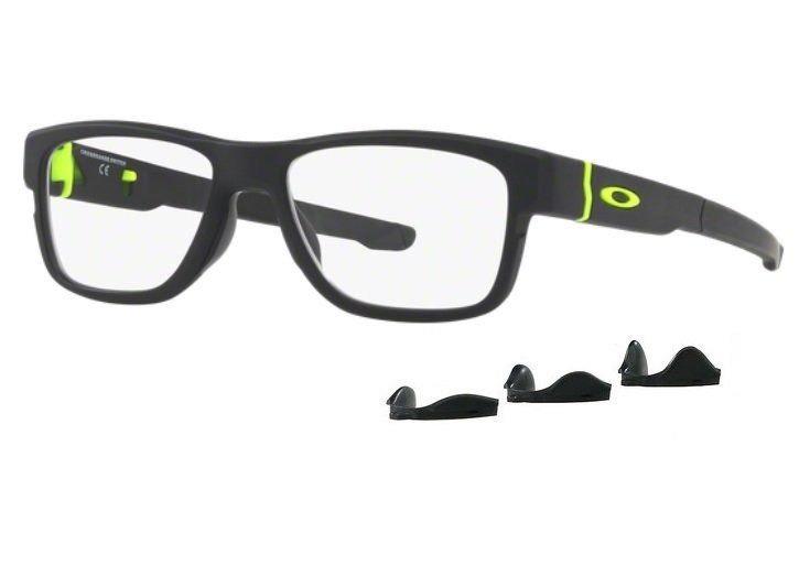 Armação Oculos Grau Oakley Crossrange Switch 8132 0454 Preto - R ... e9ec94e99e