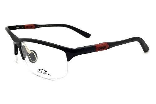 b1e1e3285d372 Armação Oculos Grau Oakley Oa2848 Mascara Original Metal - R  115,00 ...