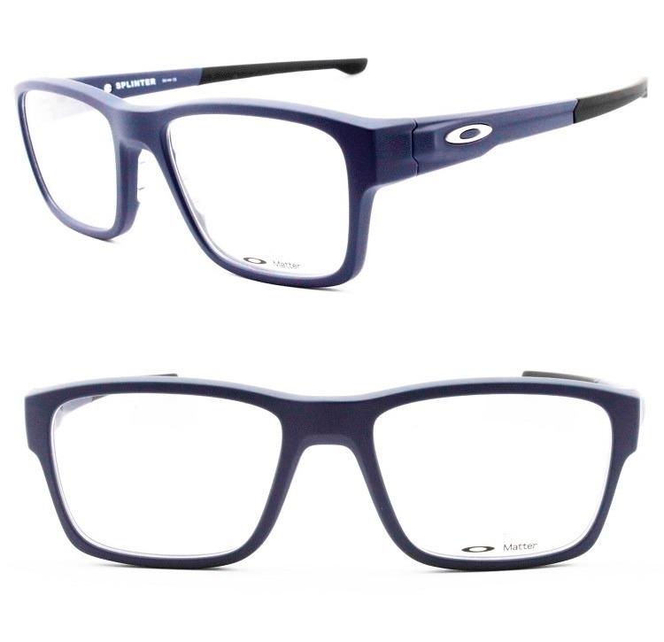 Armação Óculos Grau Oakley Splinter 8077 0754 Original - R  349,00 ... 55c6ae5632