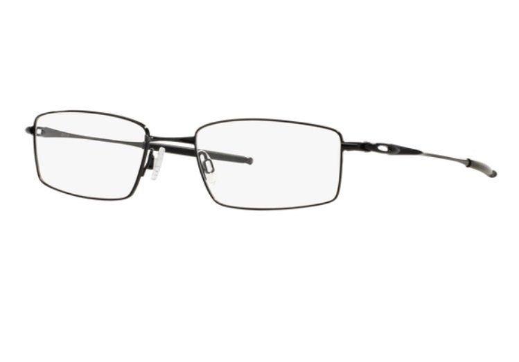 fbba49c0fc2 Armação Oculos Grau Oakley Top Spinner 4b Ox3136 0253 Preto - R  259 ...