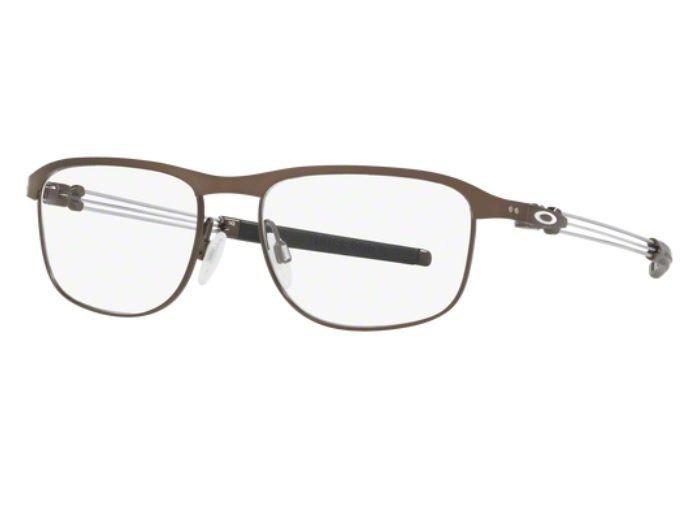 4c09e2465 Armação Oculos Grau Oakley Truss Rod R Ox5122 0253 Titanio - R$ 219 ...