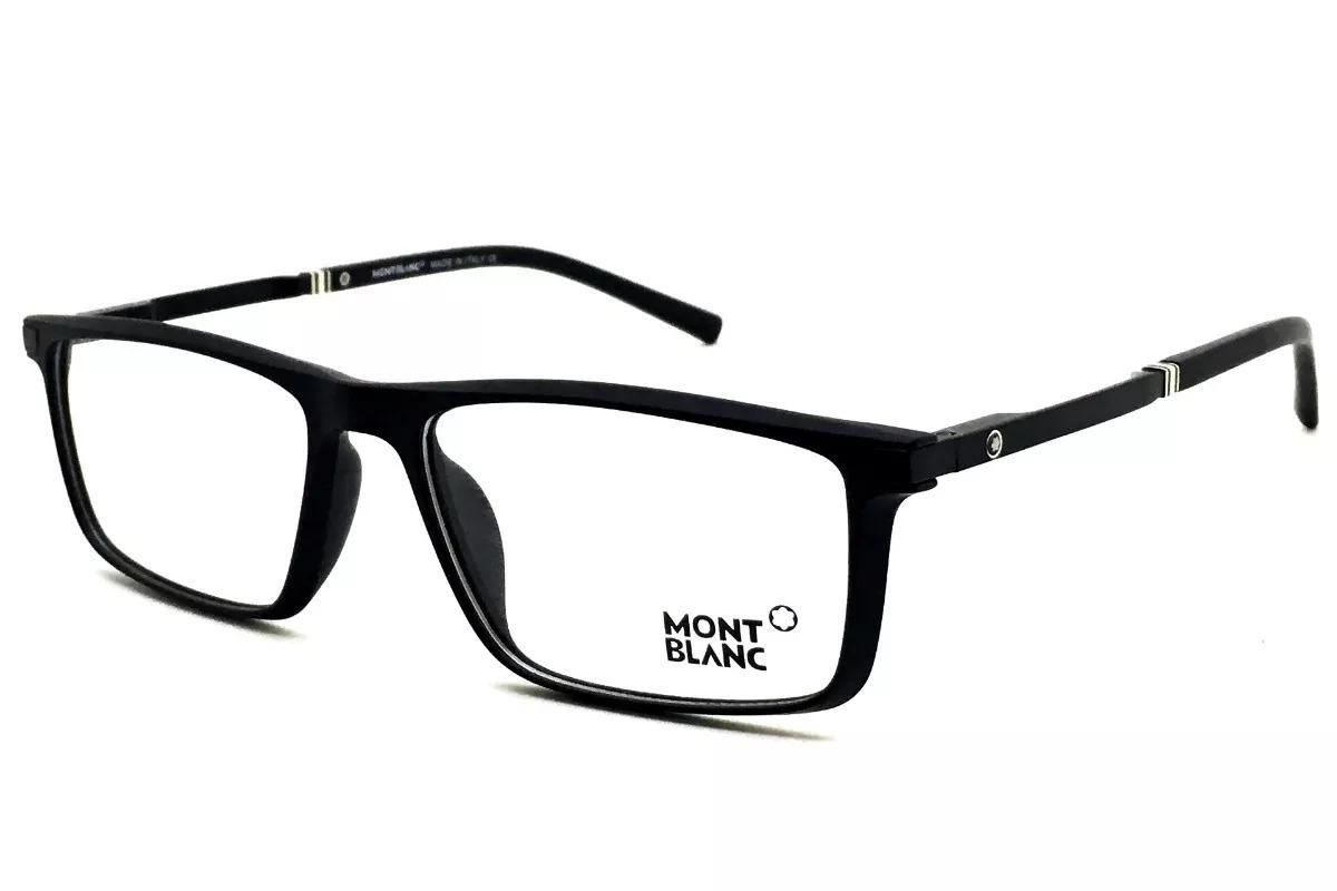 armação óculos grau original mont blanc mb82 acetato leve. Carregando zoom. 0b6dd24831