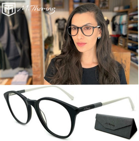 019a2d1c1 Armação Oculos Grau Original M.thomaz Mt70 Feminino Redondo