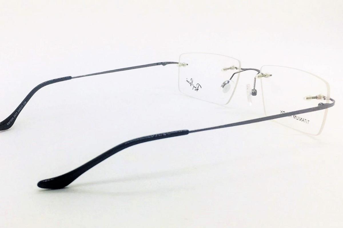 6e0472356 armação oculos grau original rb2011 titanium masculino. Carregando zoom.