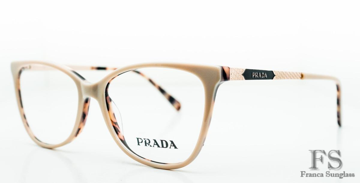 a27ce36e5bd79 armação óculos grau prada original importado frete grátis. Carregando zoom.
