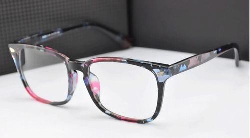 armação óculos grau quadrada confortável wayf feminina rb