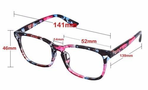 Armação Óculos Grau Quadrado Descanso Acessório Estética Bt - R  39 ... f571d527bb