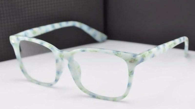 Armação Óculos Grau Quadrado Descanso Acessório Estética Bt - R  83 ... 482453a8a7