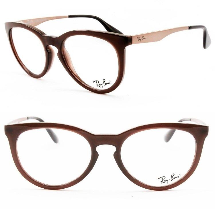 67bed19f316f9 armação óculos grau ray-ban feminino 100% original - rb7070l