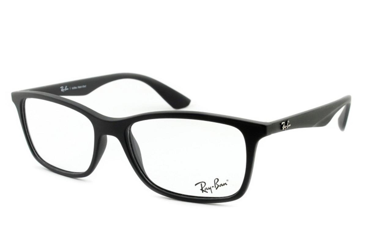 armação óculos grau ray-ban masculino rb7047 5196 tamanho 56. Carregando  zoom. 6f9e7d3ae2