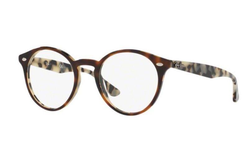 d17c46f9aa1d5 Armação Oculos Grau Ray Ban Rb2180v 5676 49mm Marrom Havana - R  279 ...