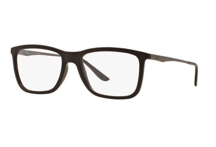 Armação Oculos Grau Ray Ban Rb7061l 5413 Lente 54mm Marrom - R  249 ... 3f75d120b8