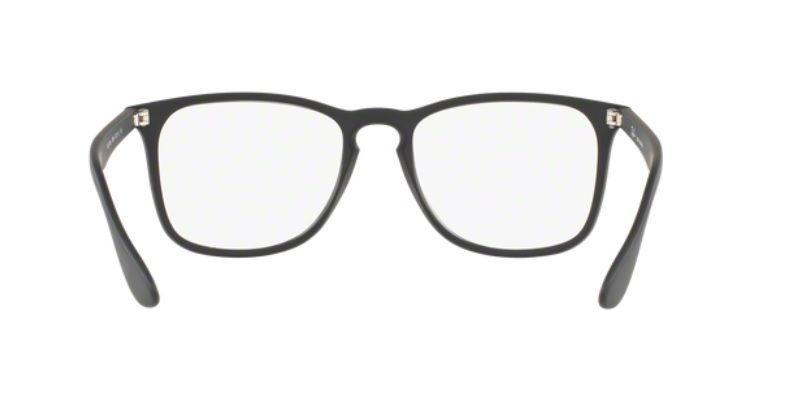 961e3d40875fa Armação Oculos Grau Ray Ban Rb7074l 5364 Lente 52mm Preto Fo - R ...