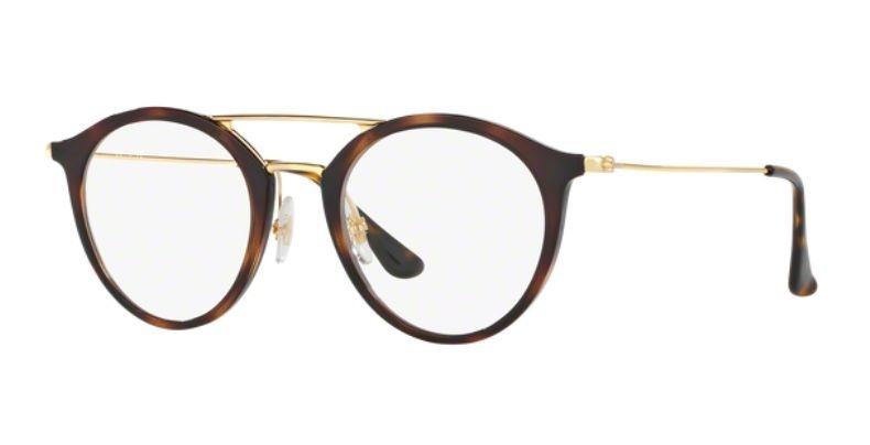 b74eaa01bc4e8 Armação Oculos Grau Ray Ban Rb7097 2012 Lente 49mm Havana - R  369 ...