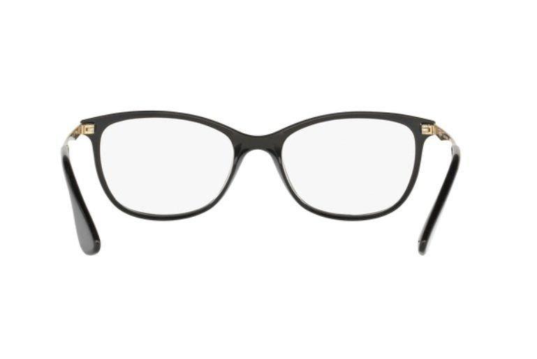 caab3a3e88 Armação Oculos Grau Ray Ban Rb7106l 5697 53mm Preto Dourado - R  319 ...