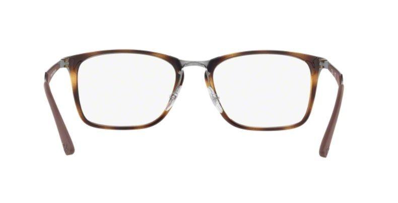 3c7778cdac9 Armação Oculos Grau Ray Ban Rb7131 2012 Lente 55mm Havana - R  369 ...