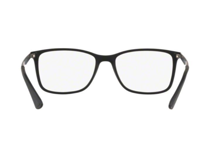 8ee21cbf8 Armação Oculos Grau Ray Ban Rb7133 5826 55mm Preto Fosco - R$ 289,00 ...