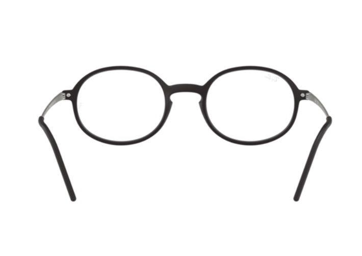 43957dfe69c81 Armação Oculos Grau Ray Ban Rb7153 5364 52mm Preto Fosco - R  299