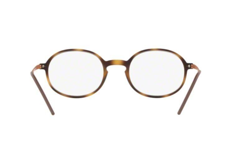 armação oculos grau ray ban rb7153 5365 52 havana fosco. Carregando zoom. 12a0791ed9