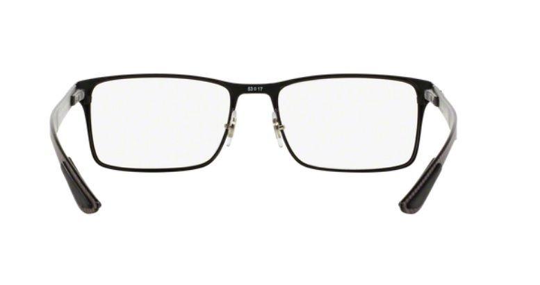 ce60d9df729 Armação Oculos Grau Ray Ban Rb8415 2503 55mm Fibra Carbono - R  459 ...