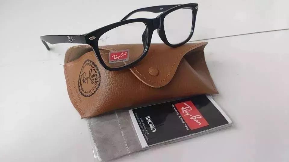 armação oculos grau rayban 5115 lentes de leitura cortesia. Carregando zoom. a6ec8c523e