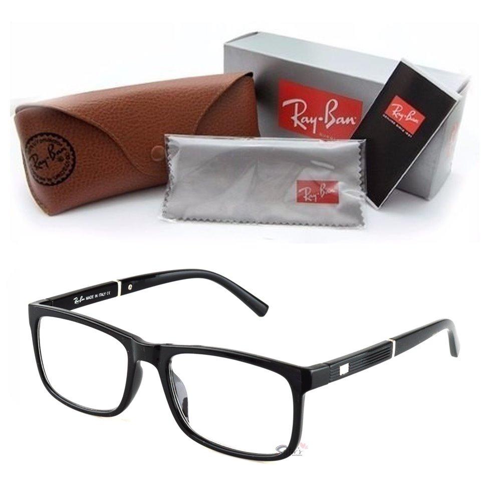 armação óculos grau rayban feminino masculino quadrado 5001. Carregando  zoom. 6d1a90b983