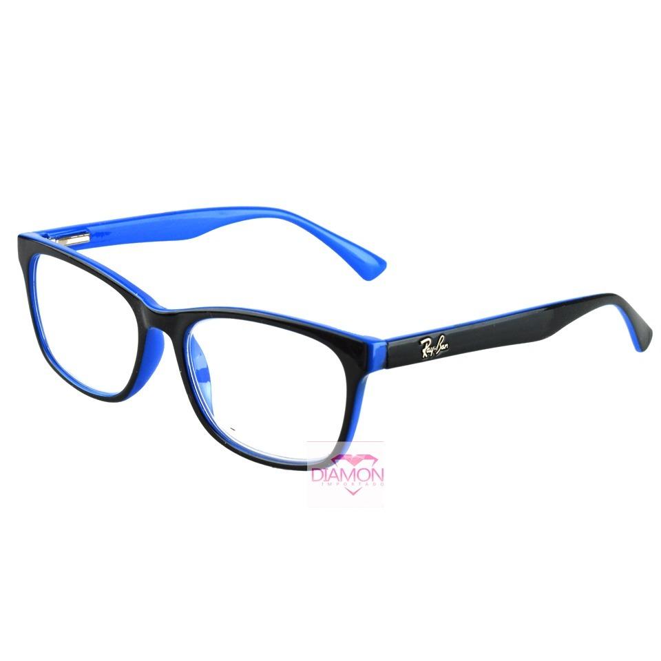 armação óculos grau rayban feminino masculino quadrado 5115. Carregando  zoom. 4866c8c331