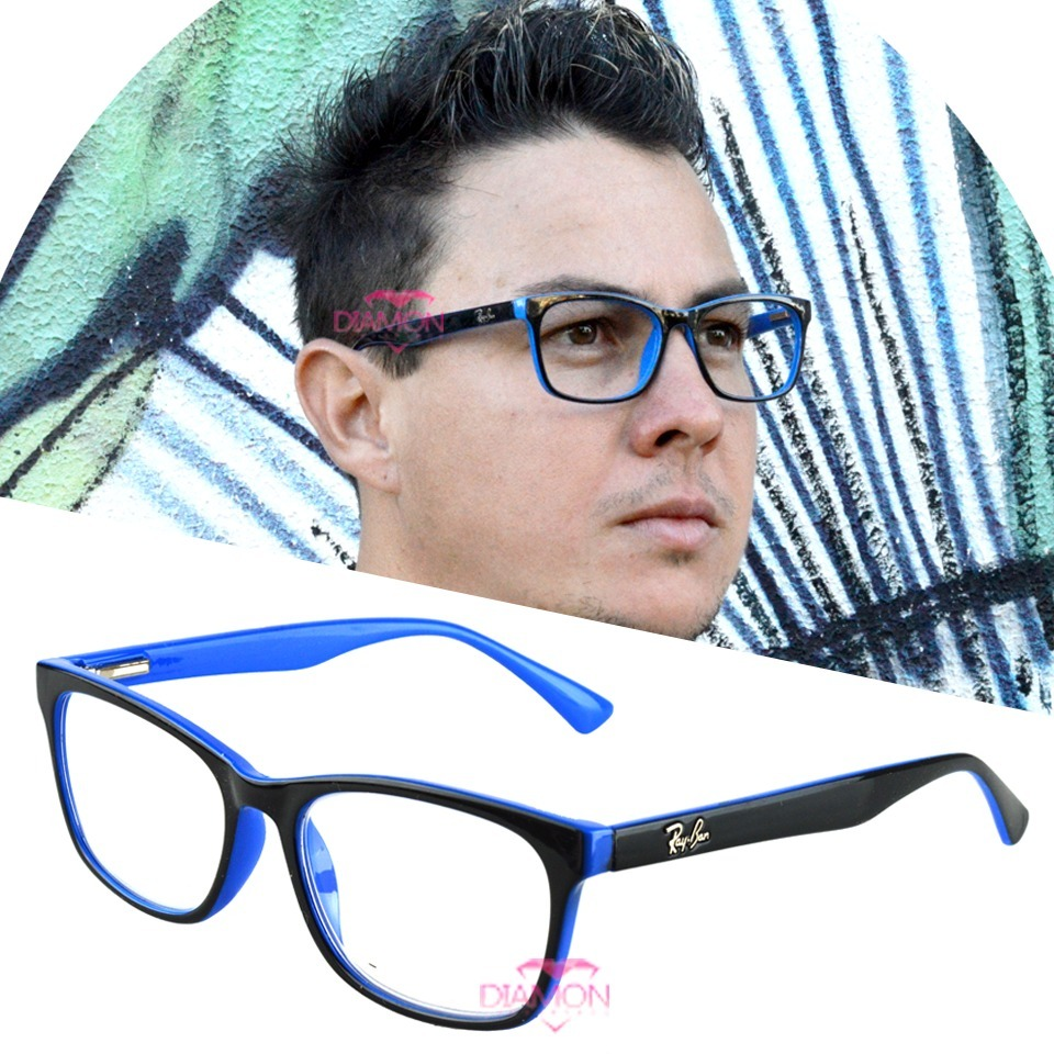 armação óculos grau rayban feminino masculino quadrado 5115. Carregando  zoom. f2b14ca1ec