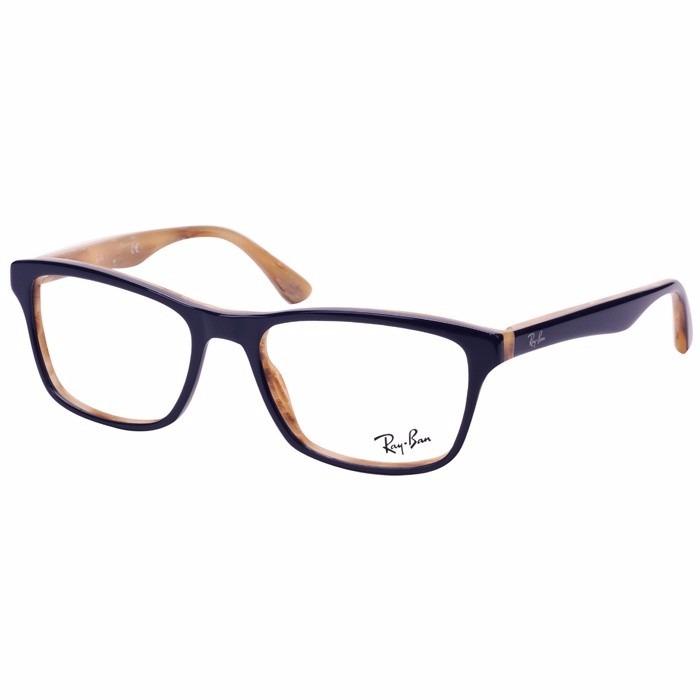 Armação Oculos Grau Rayban Rb5228 Masculino Feminino Acetato - R ... b2a29e0e05