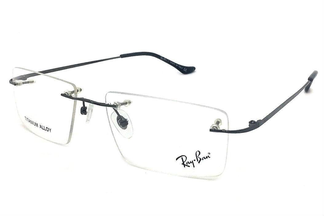 d6ced635b armação oculos grau rb2011 original titanium masculino. Carregando zoom.