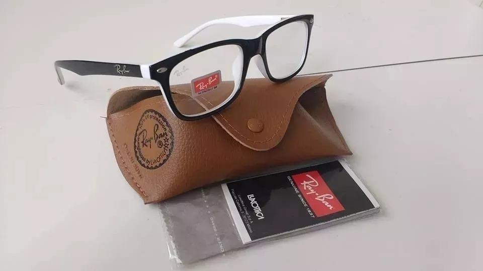 a5f6584e0b7e2 Armação Óculos Grau Rb5115 Muito Barata